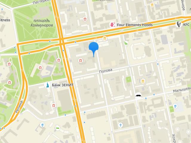 Отдел опеки и попечительства Ленинского района г. Екатеринбург на ул. Шейнкмана