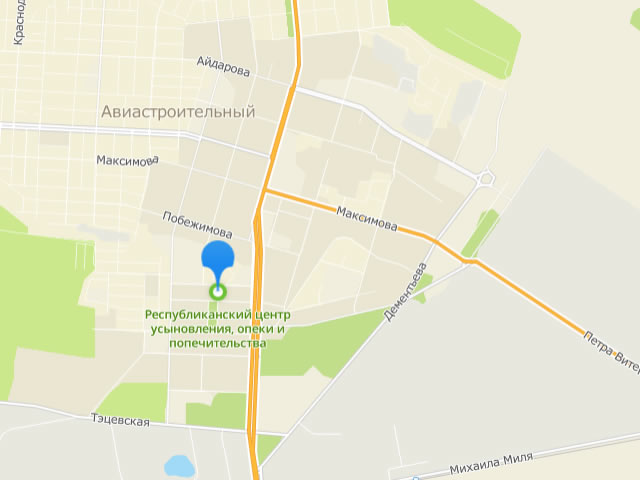 Республиканский центр усыновления, опеки и попечительства в г. Казань на ул. Социалистическая