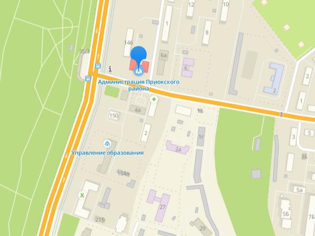 Отдел опеки и попечительства управления общего образования администрации Приокского района Нижнего Новгорода на проспекте Гагарина