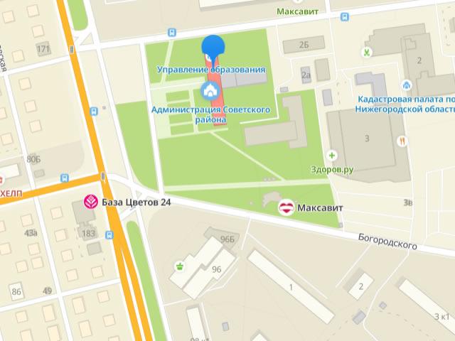 Отдел опеки и попечительства управления общего образования администрации Советского района Нижнего Новгорода на Советской площади