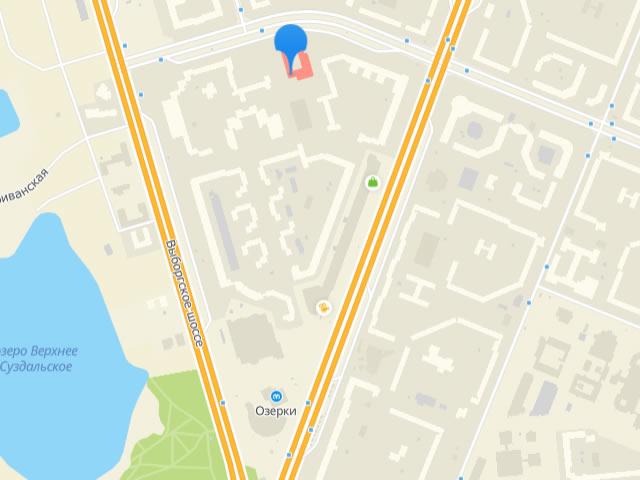 Отдел опеки и попечительства МО Шувалово-Озерки СПб на проспекте Луначарского
