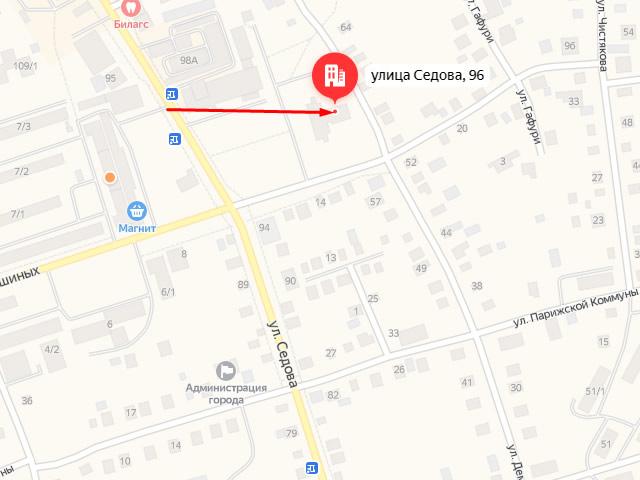 Отдел опеки и попечительства администрации муниципального района Благовещенский район РБ в г. Благовещенск на ул. Седова