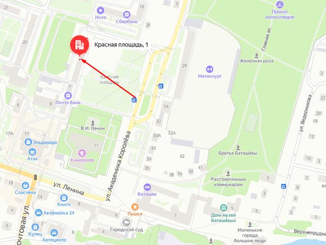 Сектор по охране детства управления образования администрации города Выкса Нижегородской области на Красной площади