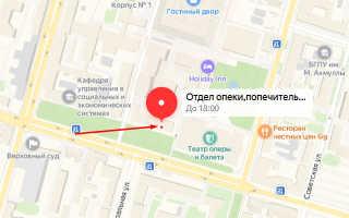 Органы опеки Кировского района Уфы