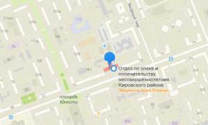 Органы опеки Кировского района Красноярска