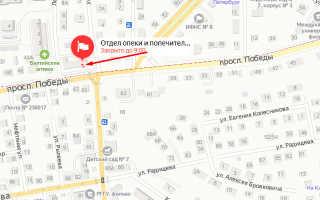 Органы опеки Московского района Калининграда
