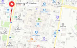 Органы опеки Ленинского района Пензы